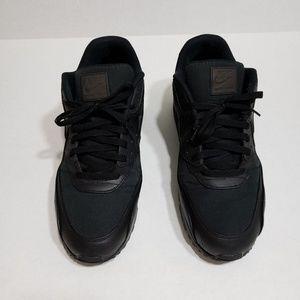 Nike Air Max 90 Premium Black Gold Size 14 A09